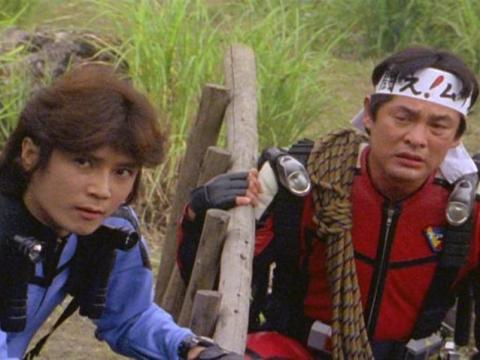ムサシとハヤテ隊長