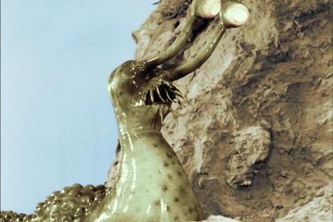 火星怪獣ナメゴン(総天然色ウルトラQ)