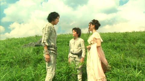 ラン・ナオ兄弟とエメラナ姫