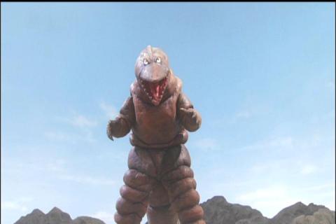地底怪獣テレスドン