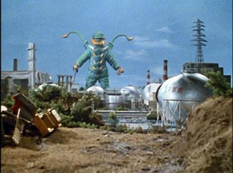 緑色宇宙人 テロリスト星人