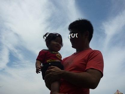 ユウちゃんとパパ