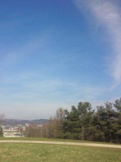 チューリッヒの空