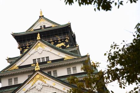 大阪観光。