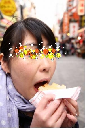 大阪食い倒れ。