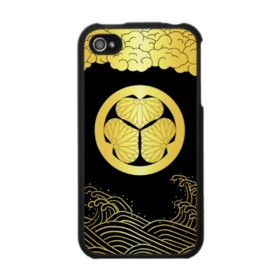 Japan Emblem TOKUGAWA 徳川家・印籠 Iphone 4 カバー