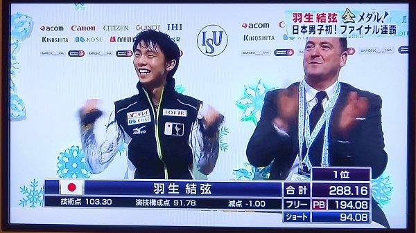 06_羽生選手のガッツポーズ