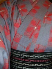 ウールの着物1