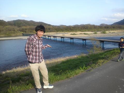 佐田沈下橋と拓磨30
