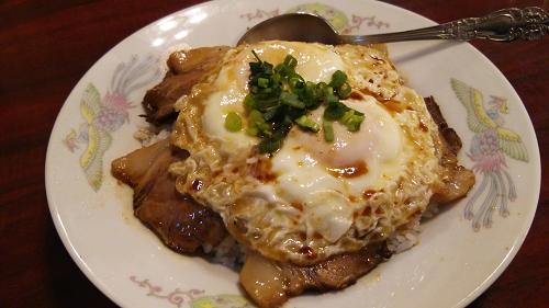 上海飯店焼き豚玉子めし13