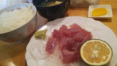 メジカ新子定食10
