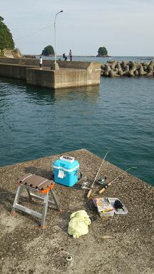 双名島付近で釣り10
