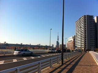 晴天の通勤路1