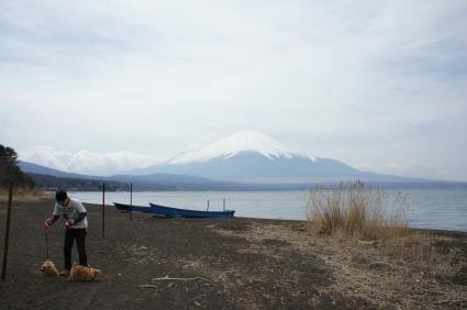 山中湖旅行2姫日目1