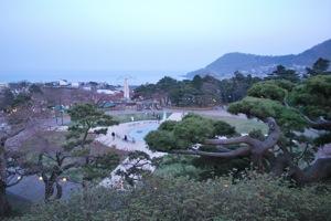 函館市函館公園見晴台