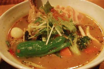 札幌市スープカレーチャチャ