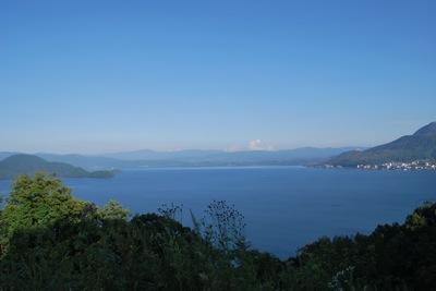 洞爺湖八景月浦展望台