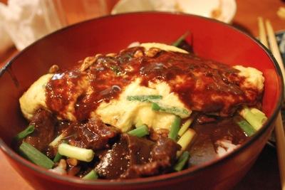 名古屋市にて、味噌おでんの島正