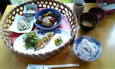 旬菜 豆腐ハンバーグ