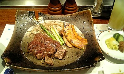 仙台牛のフィレステーキ