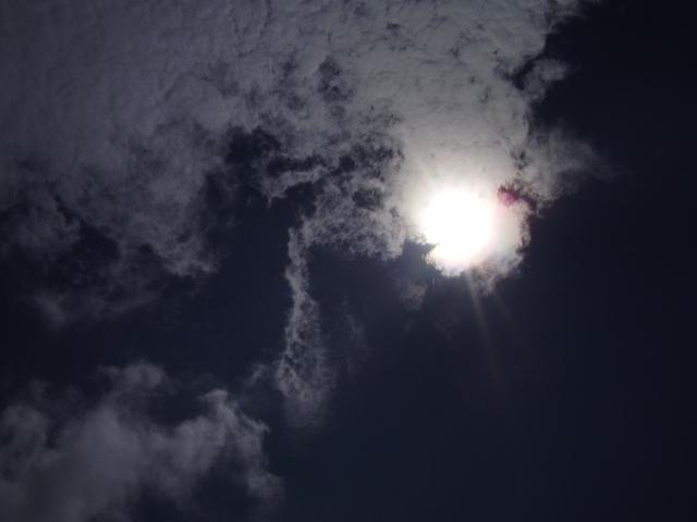 雲と太陽3