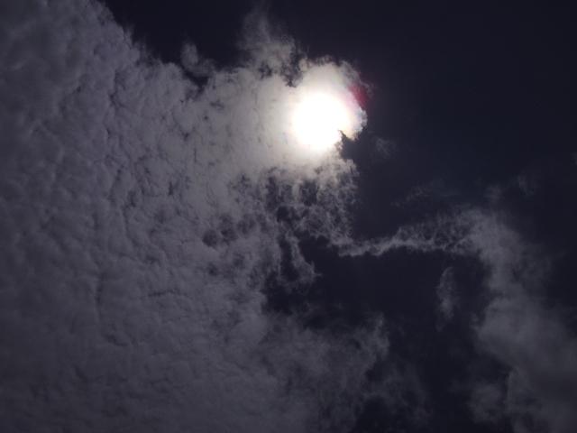 雲と太陽2