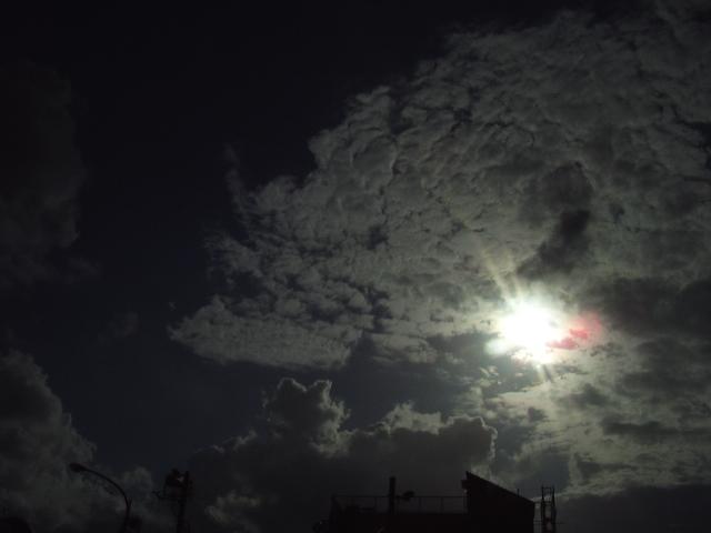 雲と太陽1
