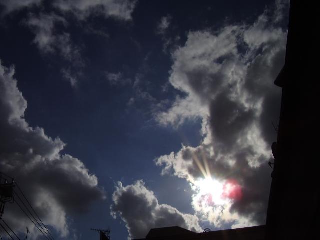 雲と太陽5