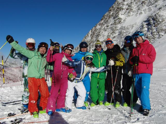 本社スタッフとのスキーテストも大成功でした。