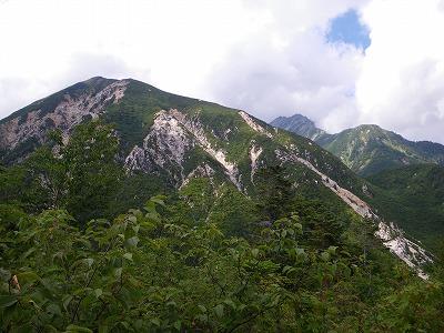 獅子岳と雄山