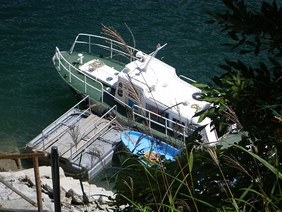 平の渡し舟