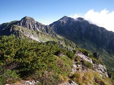 龍王岳と雄山
