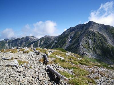 立山から別山