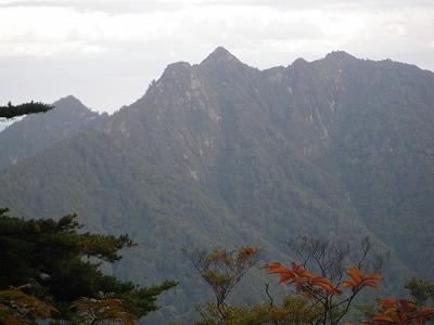 土樽の槍ヶ岳