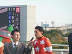 内田騎手のインタビュー