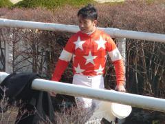 ウィナーズサークル:岩田騎手