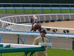 返し馬:レッドデセーオ