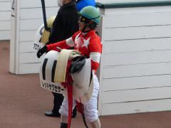 レース後:川須騎手