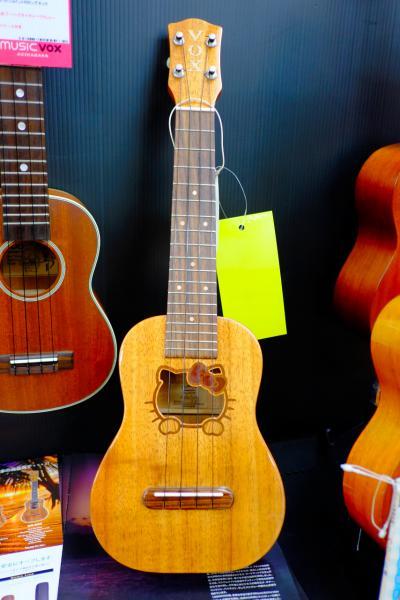 ハローキティウクレレ/Hello Kitty ukulele