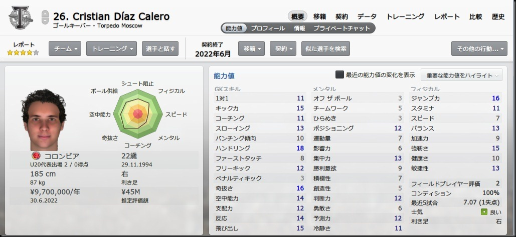Calero(2017-2018)