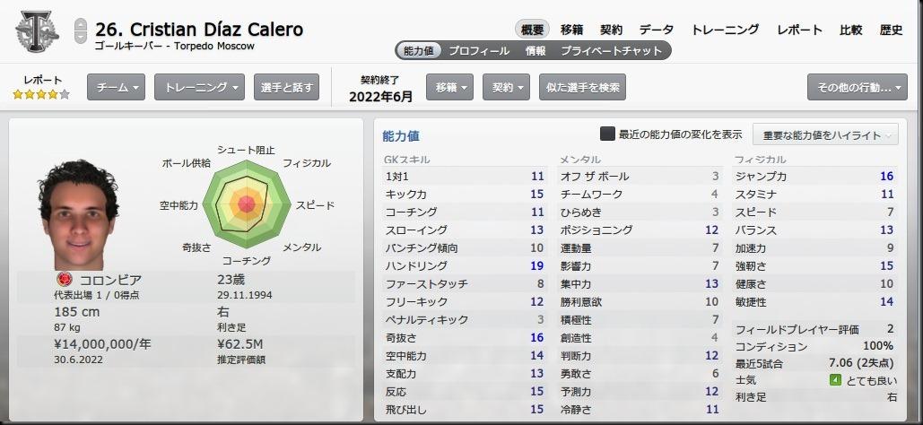 Calero(2018-2019)