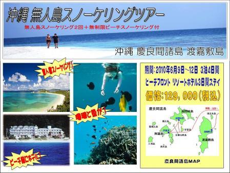 沖縄 スノーケル
