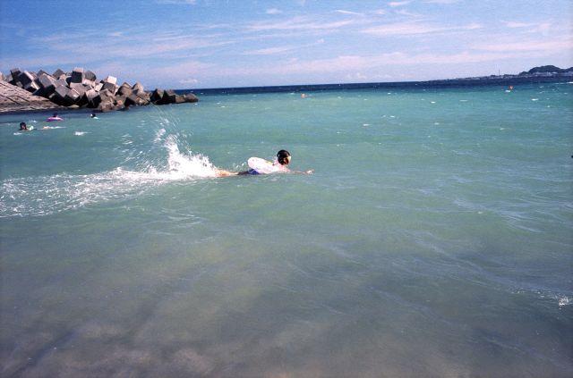 海水浴2010-03