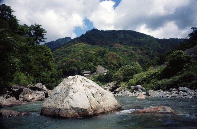 9月初旬の南魚沼渓流3