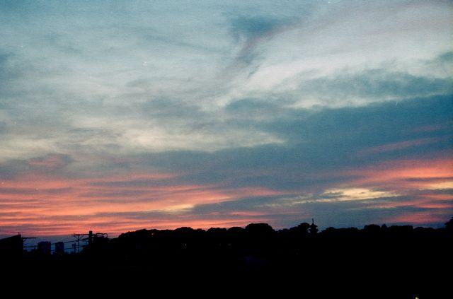 或る日の夕暮れ01