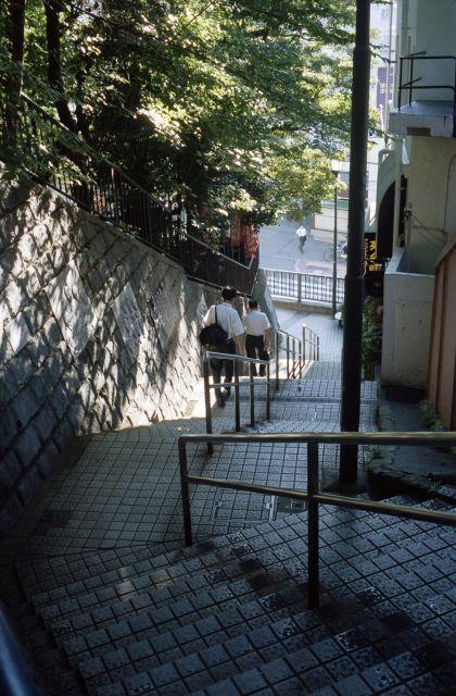 朝の階段01a