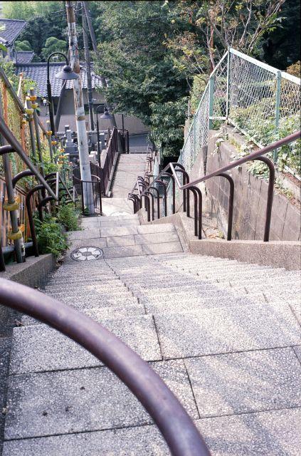 めぐみ坂西側階段1