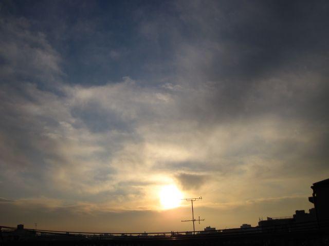 大晦日の日の出2010
