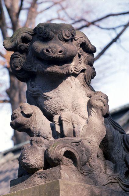 戸越八幡神社のいぬ