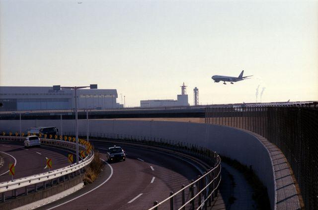 羽田で飛行機01b
